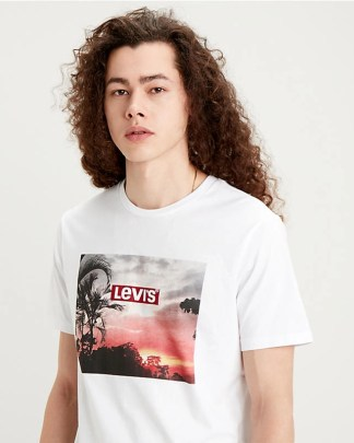 Levi's Graphic T-shirt White