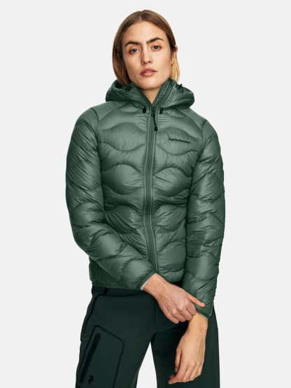 Peak Performance Helium Hood Jacket Green