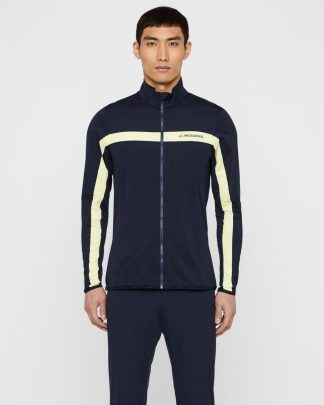 J.Lindeberg Jarvis Midlayer Jacket Dark blue