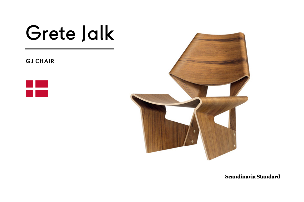 Six Classic Scandinavian Mid Century Modern Chairs