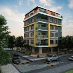 Apartments in the center of Alanya on Cleopatra beach