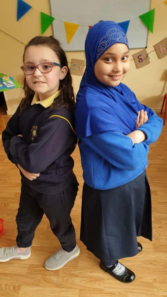 Ciara O' Shea and Mahek Hussain, Presentation primary school, Tralee, Co. Kerry.