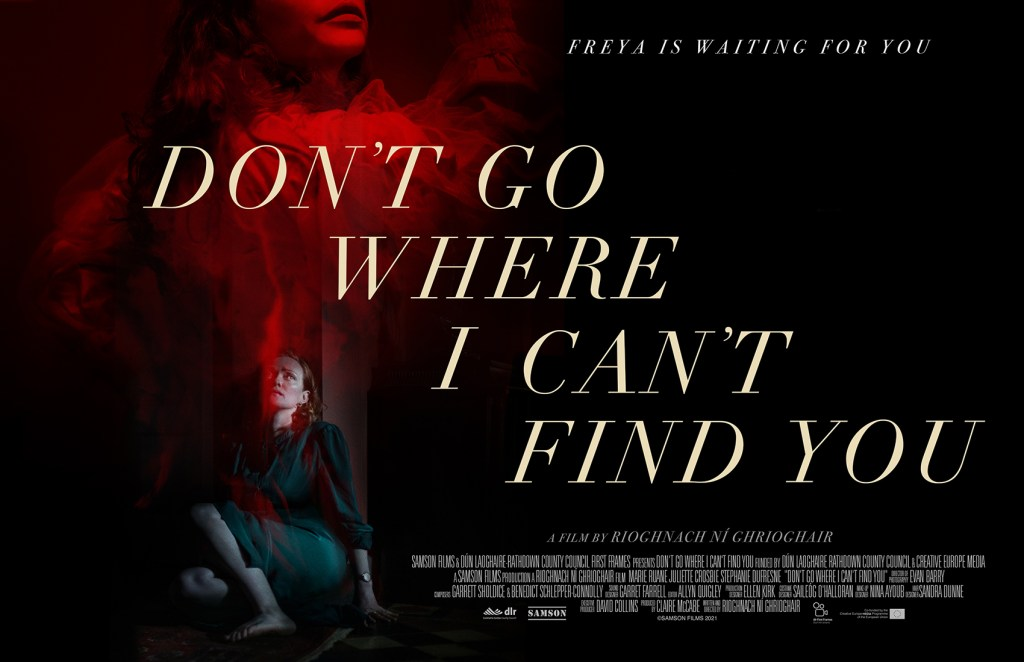 Don't Go Where I Can't Find You banner designed by Ben Parker