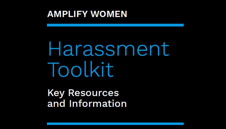 Amplify Women Harassment Toolkit