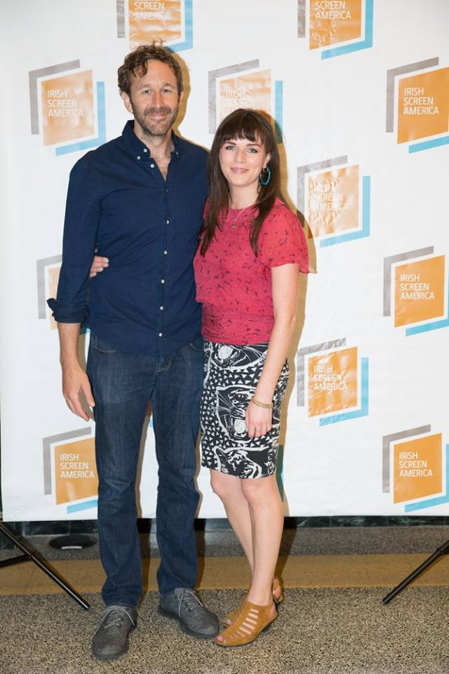 Actor Chris O'Dowd and comedian Aisling Bea at Opening Night of Irish Screen America LA