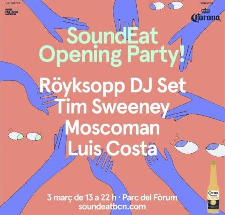 SoundEat! vuelve con Röyksopp, Tim Sweeney y Moscoman