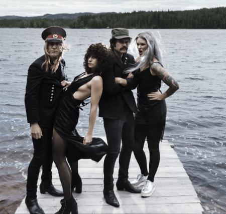"The Baboon Show presentan su nuevo disco ""Radio Rebelde"""