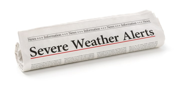 Severe Weather Monitoring