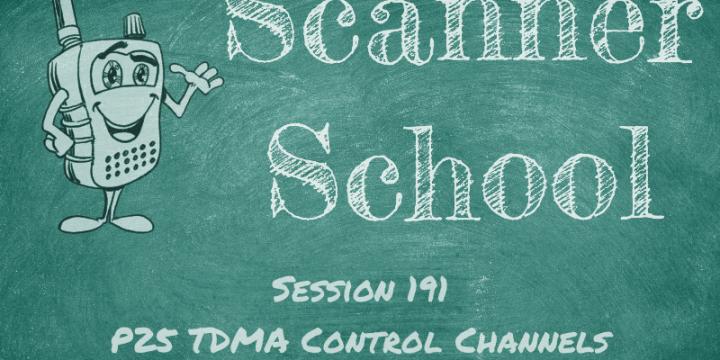 P25 TDMA Control Channels