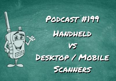 Handheld vs Desktop/Mobile Scanners