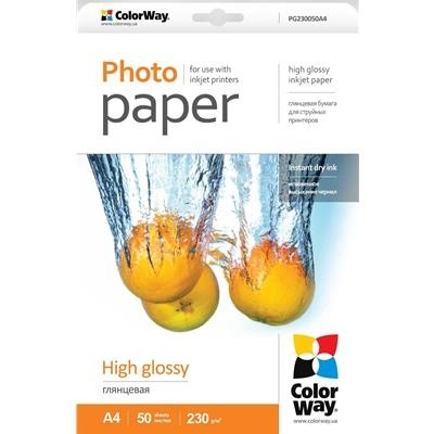 Scanstation Glossy Photo Paper 230gsm A4 50 Pack