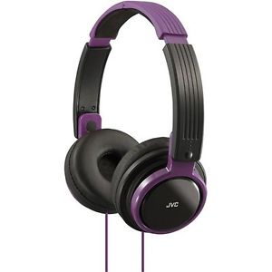 JVC RIPTIDZ On-Ear Headphones Violet