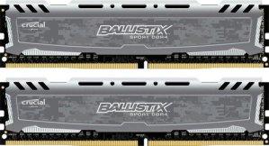 Crucial 16GB Ballistix Kit (8GBx2) DDR4 2400 MT/s Memory Module