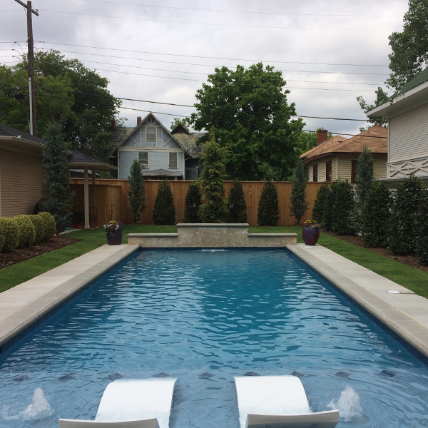 pools waterfalls scapes landscaping okc