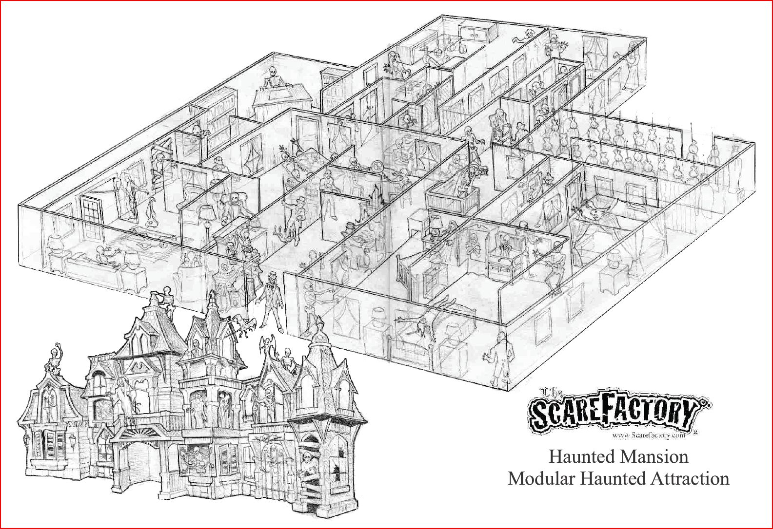 Attraction Design Services Haunted Mansion The Scarefactory