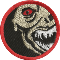 Scariest Character badge