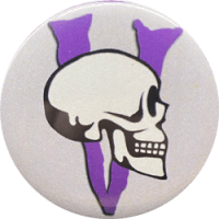 Spooky Volunteer Button