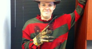 Pip Goes Freddy For Halloween