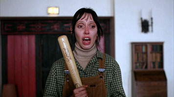 Shelly Duvall in The Shining