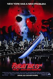 Friday The 13th 8 - Jason Takes Manhattan (1989)