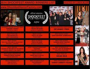 2014 Shockfest Award Winners List