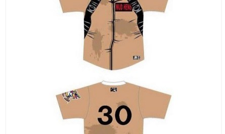 Toledo Mud Hens Ghostbusters Uniform