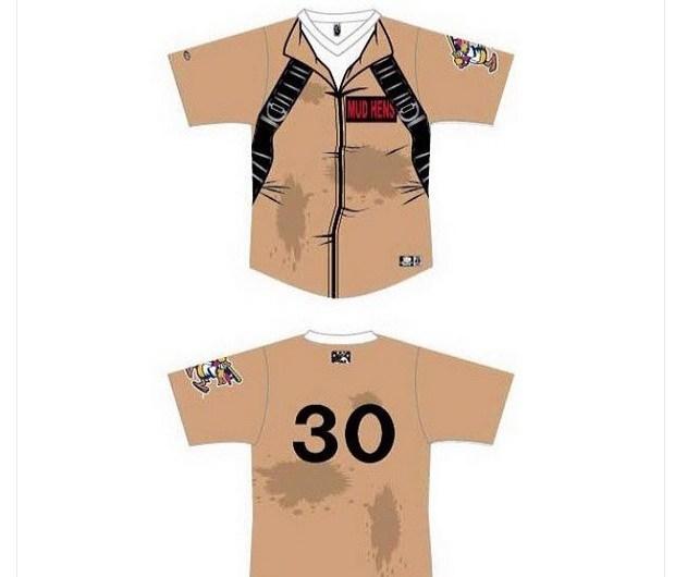 Toledo Mud Hens Unveil Ghostbusters Uniforms