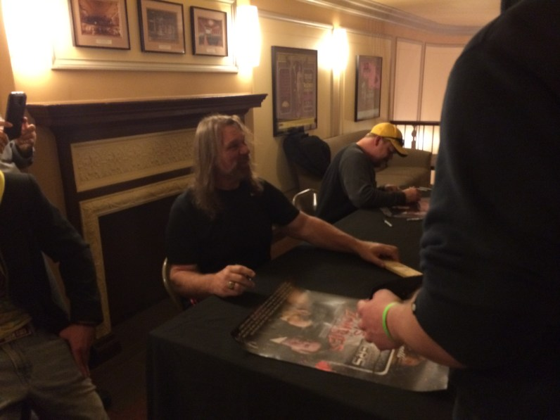 Pro Wrestlers Vs. Zombies - Hacksaw Signing