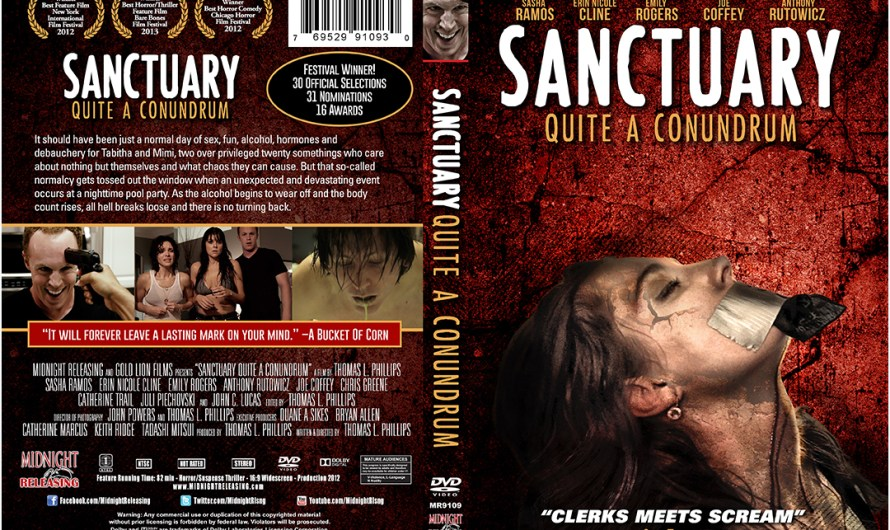 Sanctuary; Quite A Conundrum On DVD August 26th!!!