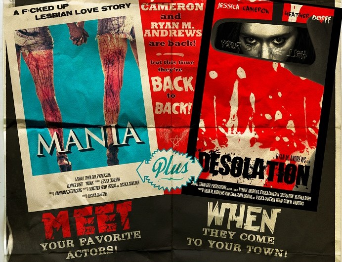Jessica Cameron Announces Triple Feature Horror Extravaganza