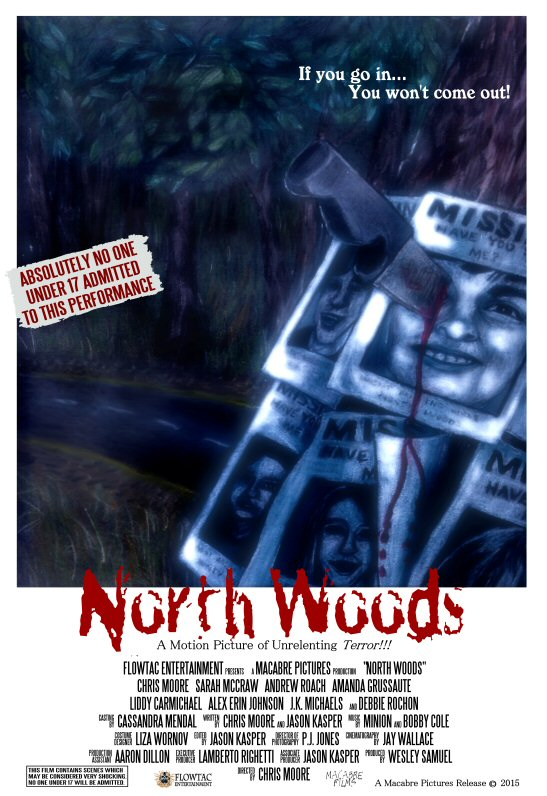 North Woods Official Poster