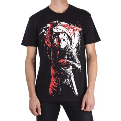 Electric Zombie Friday The 13th Jason Tshirt