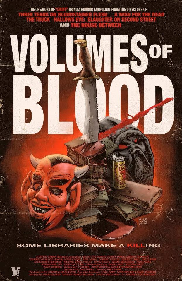 Volumes Of Blood - Official Poster