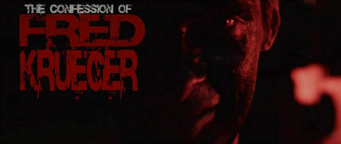 The Confession Of Fred Krueger Banner
