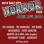 2016 Salt City Horror Fest – April 16th & 17th