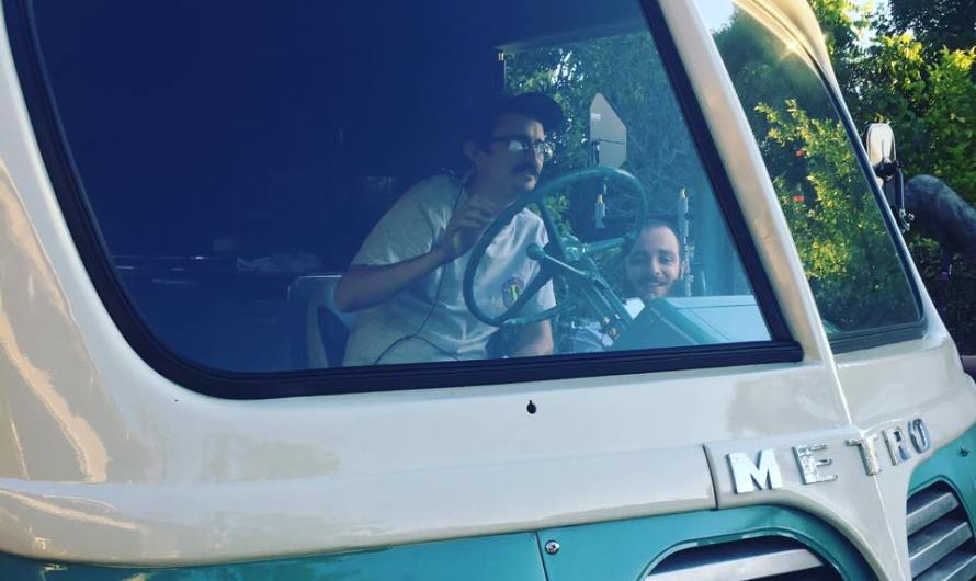 The Ice Cream Truck Filming Underway