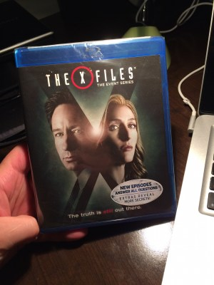 The X-Files - The Event Series Blu-Ray Front