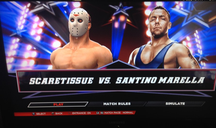 ScareTissue… The Wrestler?