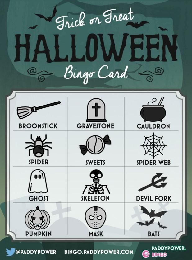Halloween Bingo - Trick or Treat