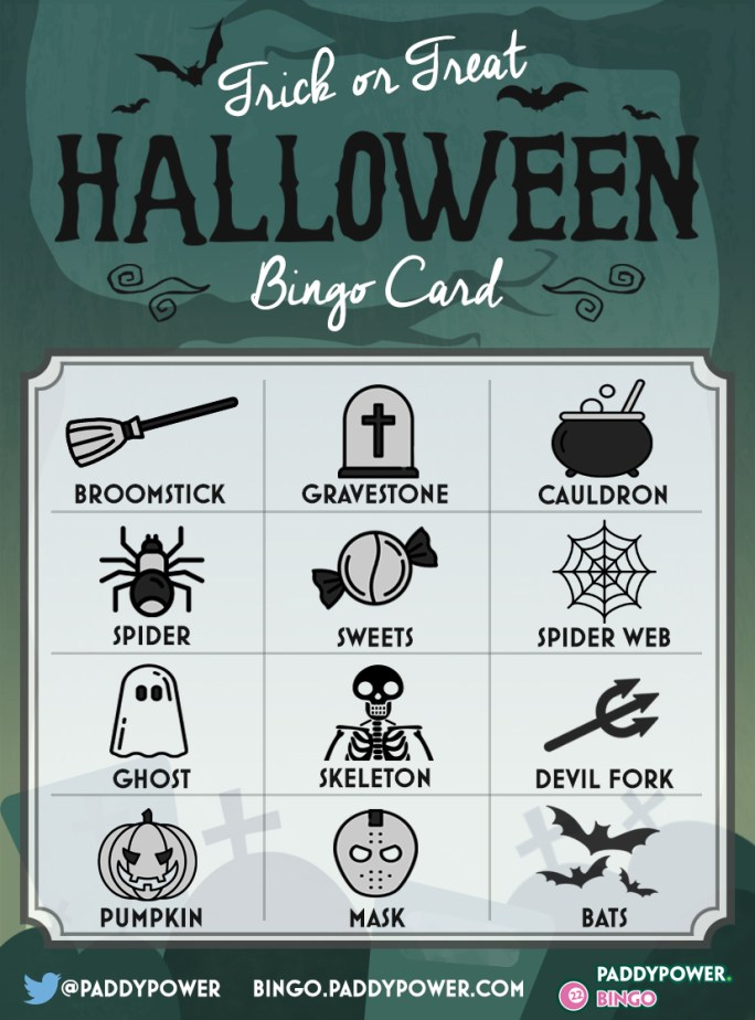 Halloween Bingo - Trick or Treat