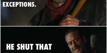 Negan - Man of His Word