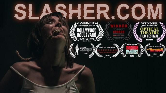 Slasher.com Cover Laurels