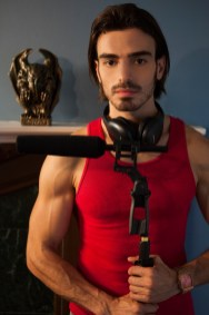 Promotional Image of Andres Mejia as Carlos in Reel Nightmare