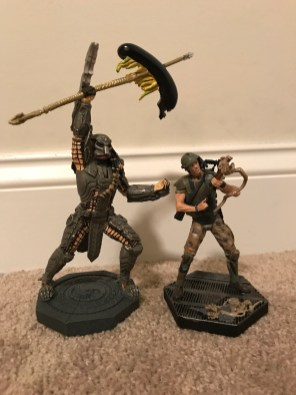 Eaglemoss Scar Predator & Hicks