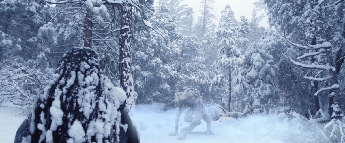 Alien Reign of Man - snow ice