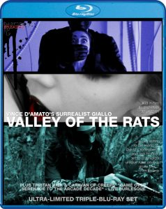 Valley of the Rats Limited Triple Blu-ray Cover Vince D'Amato