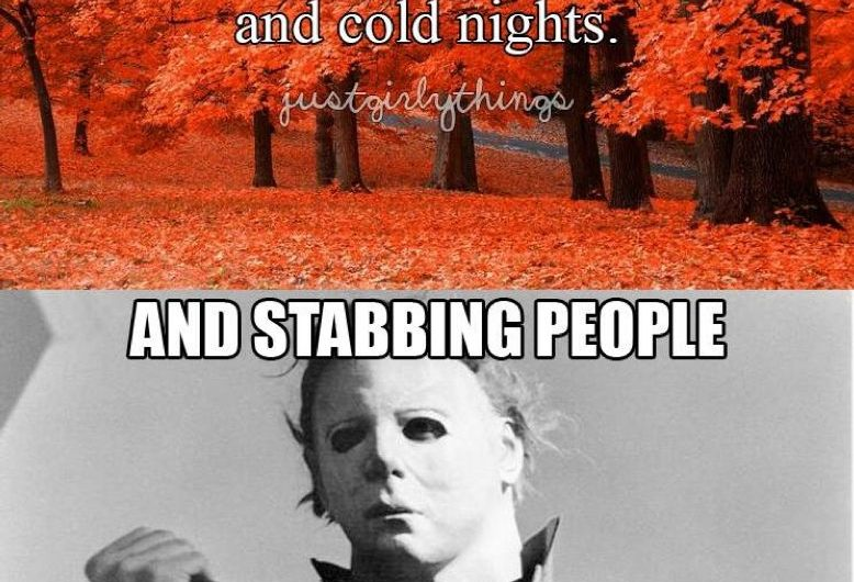 Fall Is Here Horror Fans!