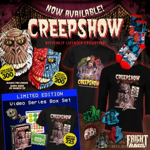 9f49a8a1a79 Creepshow Box Set   Evil Dead Trading Cards from Fright-Rags ...