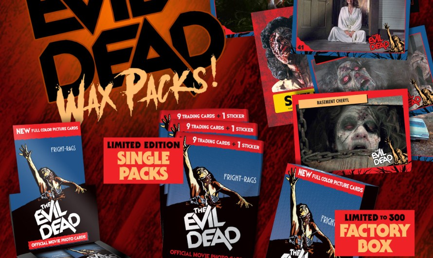 Creepshow Box Set & Evil Dead Trading Cards from Fright-Rags