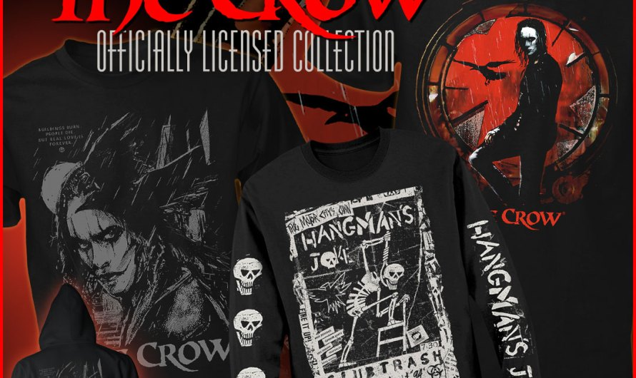 Trick 'R Treat, Halloween and The Crow Apparel from Fright-Rags